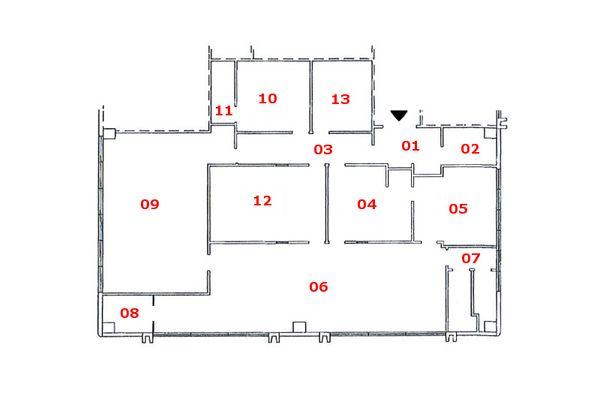 Immagine n0 - Planimetry - First floor - Asta 7853