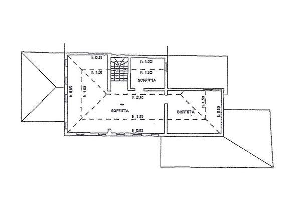 Immagine n3 - Planimetria - Piano secondo - Asta 7861