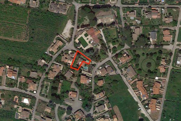 Immagine n0 - Planimetria - Vista aerea - Asta 7866
