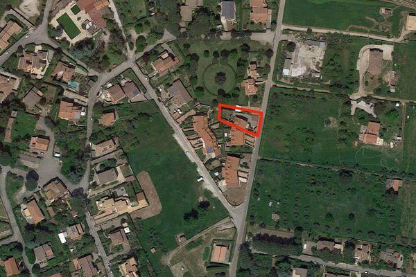 Immagine n0 - Planimetria - Vista aerea - Asta 7867