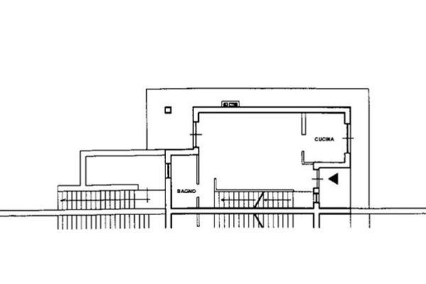Immagine n1 - Planimetria - Piano terra - Asta 7867