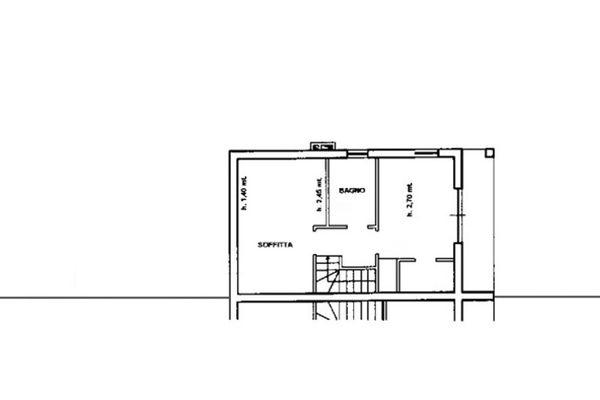Immagine n2 - Planimetria - Piano primo - Asta 7867