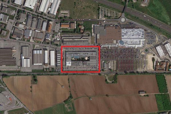 Immagine n0 - Planimetria - Vista aerea - Asta 7875