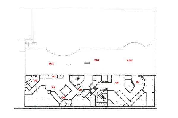 Immagine n0 - Planimetria - Piano primo interrato - Asta 7875