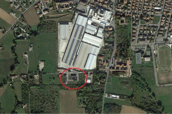 Immagine n0 - Planimetria - Vista aerea - Asta 7879