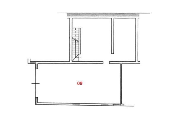 Immagine n3 - Planimetria - Piano seminterrato - Asta 7889