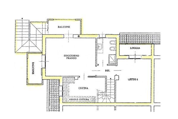 Immagine n0 - Planimetria - Piano primo - Asta 7894