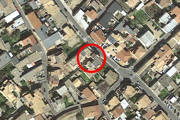 Immagine n1 - Planimetria - Vista aerea - Asta 7900