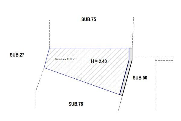 Immagine n1 - Planimetria - Piano interrato - Asta 7902