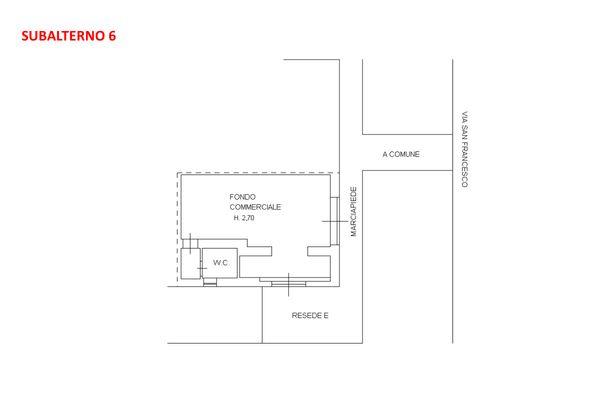 Immagine n1 - Planimetria - Piano terra - Asta 7918