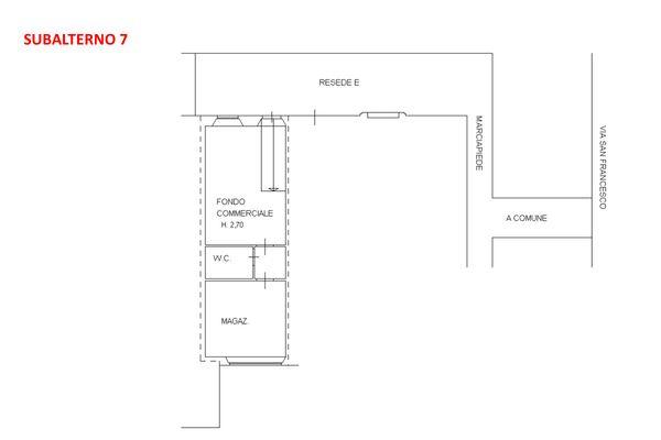 Immagine n1 - Planimetria - Piano terra - Asta 7919