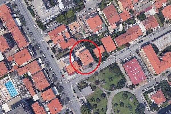 Immagine n1 - Planimetria - Vista aerea - Asta 7921