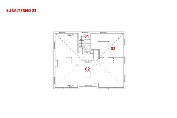 Immagine n1 - Planimetria - Piano quarto - Asta 7927