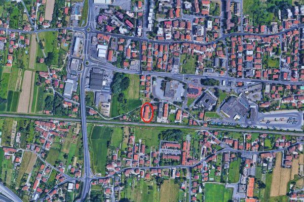 Immagine n0 - Planimetria - Vista aerea - Asta 7932