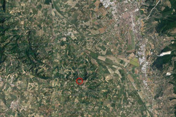 Immagine n1 - Planimetria - Vista aerea - Asta 7941