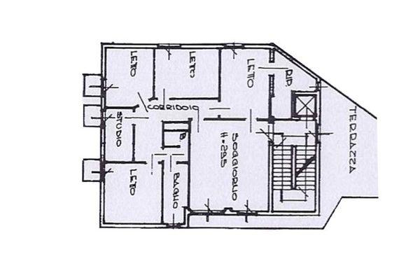 Immagine n0 - Planimetria - Piano Primo - Asta 7941