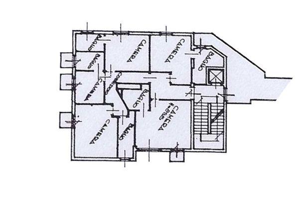 Immagine n0 - Planimetria - Piano Secondo - Asta 7941