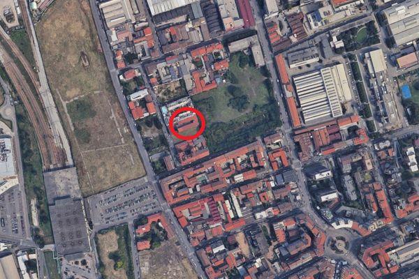 Immagine n0 - Planimetria - Vista aerea - Asta 7957