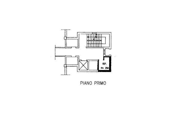 Immagine n3 - Planimetry - First floor - Asta 7964