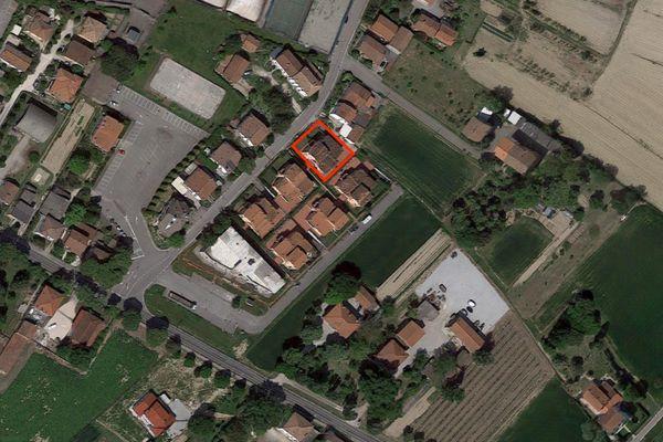 Immagine n1 - Planimetria - Vista aerea - Asta 7968