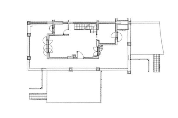Immagine n1 - Planimetria - Piano terra - Asta 8003