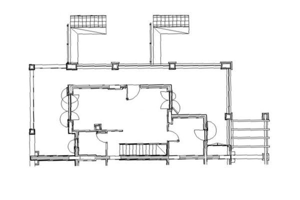 Immagine n1 - Planimetria - Piano terra - Asta 8005