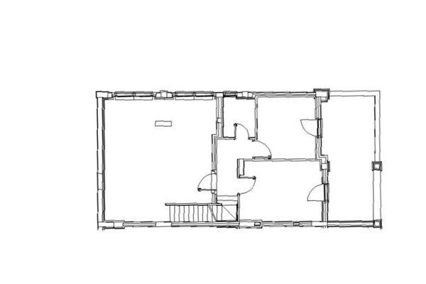 Immagine n2 - Planimetria - Piano seminterrato - Asta 8005