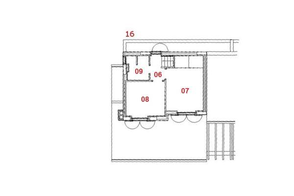 Immagine n2 - Planimetria - Piano primo - Asta 8006