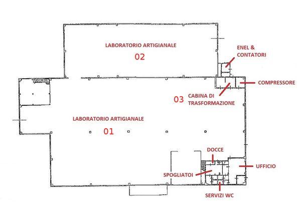 Immagine n2 - Planimetria - Piano terra - Asta 802