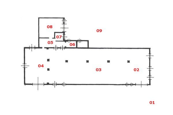 Immagine n0 - Planimetria - Piano terra - Asta 8022