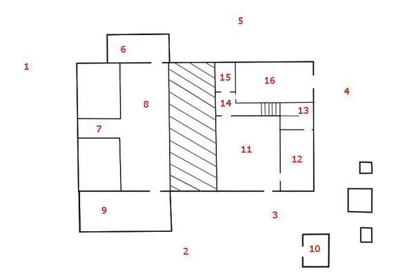 Immagine n0 - Planimetria - Piano terra - Asta 8024