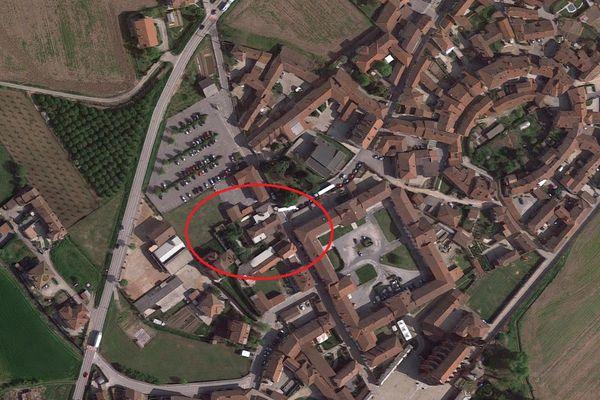 Immagine n0 - Planimetria - Vista aerea - Asta 8030