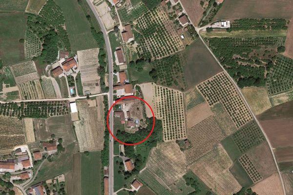 Immagine n0 - Planimetria - Vista aerea - Asta 8033