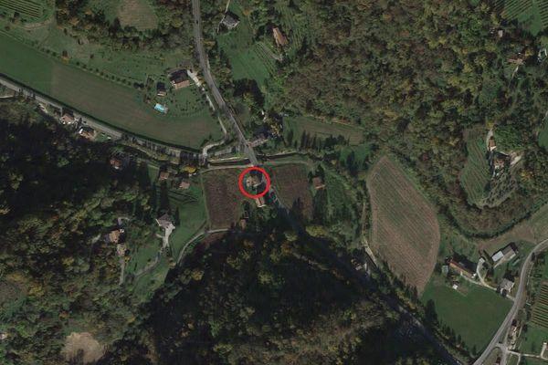 Immagine n0 - Planimetria - Vista aerea - Asta 8050