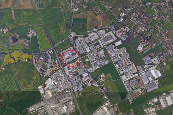 Immagine n0 - Planimetria - Vista aerea - Asta 8073