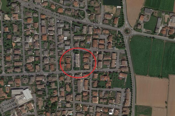 Immagine n0 - Planimetria - Vista aerea - Asta 8096