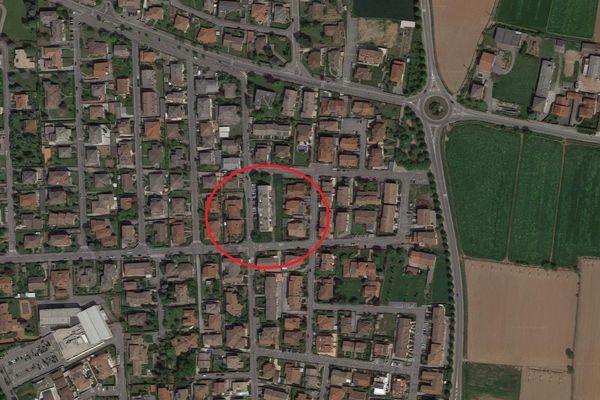 Immagine n0 - Planimetria - Vista aerea - Asta 8097