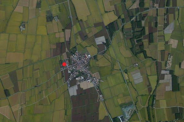 Immagine n0 - Planimetria - Vista aerea - Asta 811