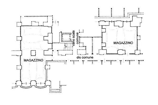 Immagine n2 - Planimetria - Piano interrato - Asta 8125