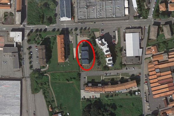 Immagine n0 - Planimetria - Vista aerea - Asta 8135