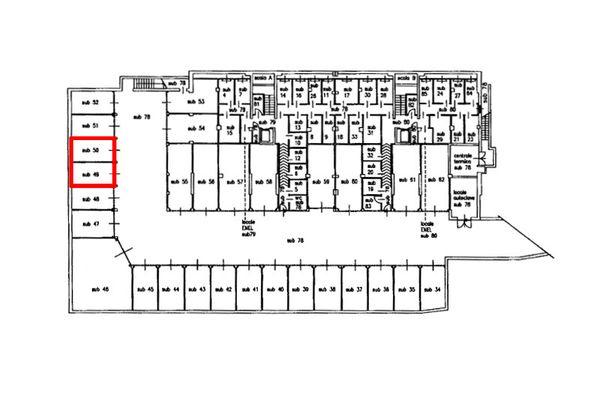 Immagine n1 - Planimetria - Piano interrato - Asta 8135