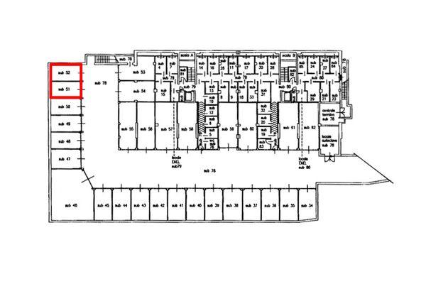 Immagine n1 - Planimetria - Piano interrato - Asta 8136