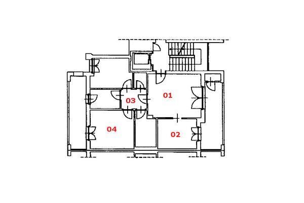 Immagine n2 - Planimetria - Piano quinto - Asta 8138