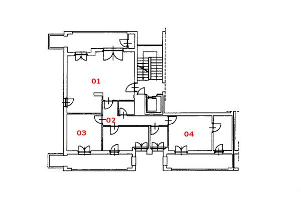 Immagine n2 - Planimetria - Piano sesto - Asta 8139