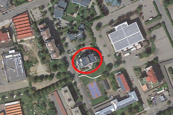 Immagine n0 - Planimetria - Vista aerea - Asta 8141