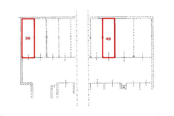 Immagine n1 - Planimetria - Piano interrato - Asta 8141