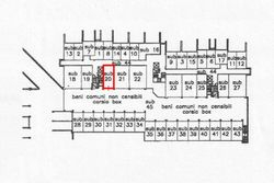 Garage in complesso residenziale (p 595 sub 20) - Lotto 8148 (Asta 8148)