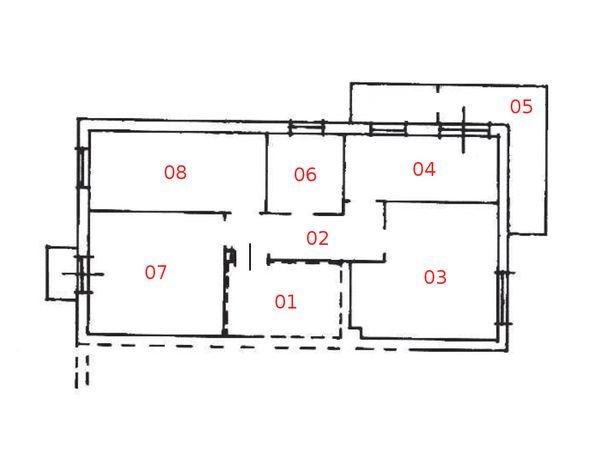 Immagine n7 - Planimetria - Piano primo - Asta 817