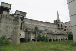 Area edificabile con ex cementificio