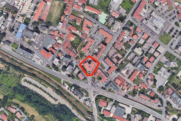 Immagine n0 - Planimetria - Vista aerea - Asta 8192